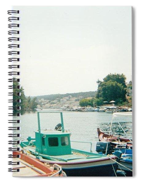 Cruise In The Mediterranean Sea Spiral Notebook