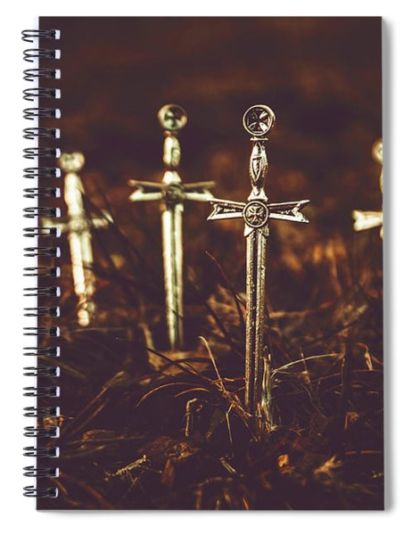 Crusaders Cemetery Spiral Notebook