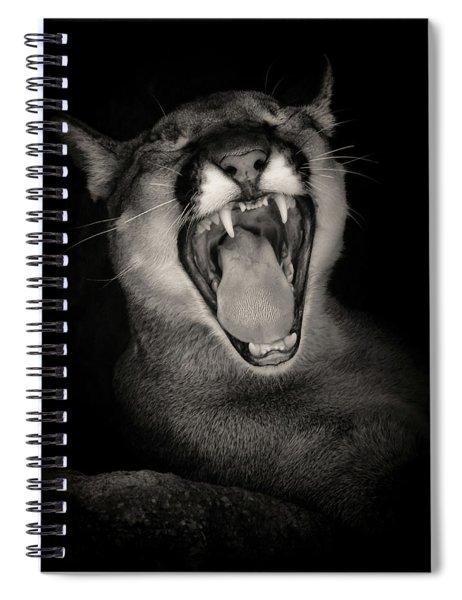 Cruz Yawning Spiral Notebook
