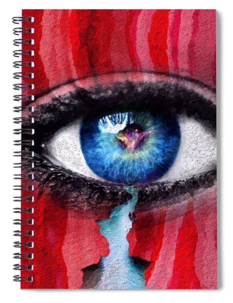 Cry Me A River Spiral Notebook