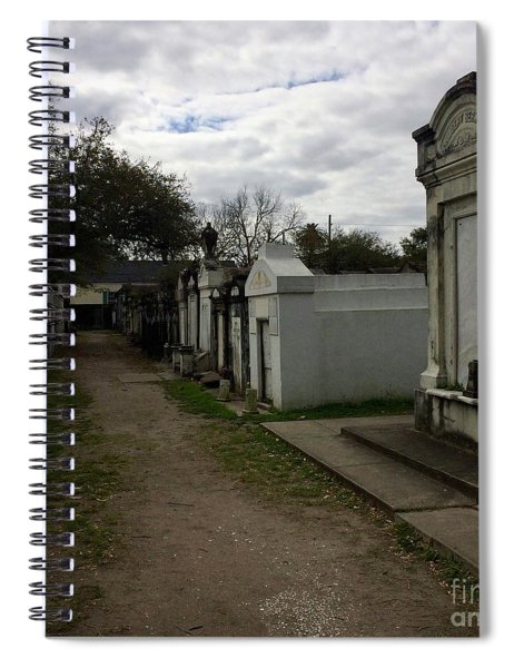 Crypts Spiral Notebook
