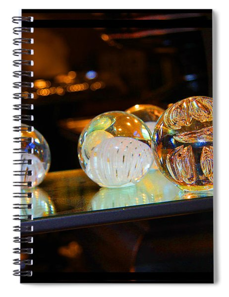 Crystal Balls Spiral Notebook