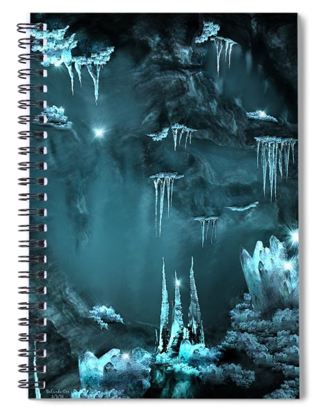 Crystal Cave Mystery Spiral Notebook