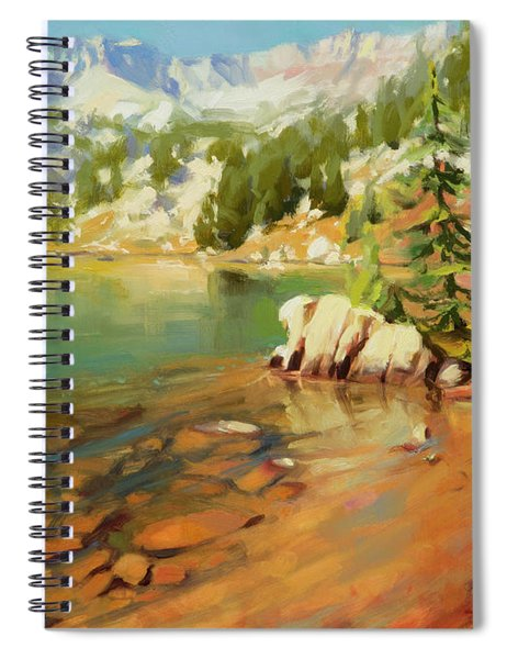 Crystalline Waters Spiral Notebook