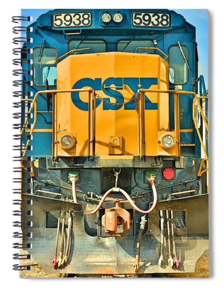 Csx 5938 Spiral Notebook