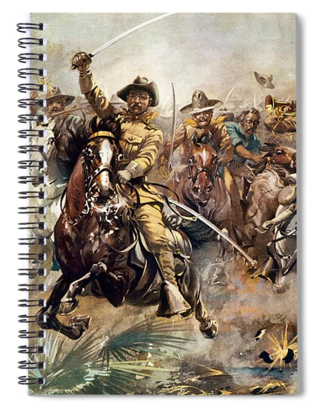 Cuba: Rough Riders, 1898 Spiral Notebook