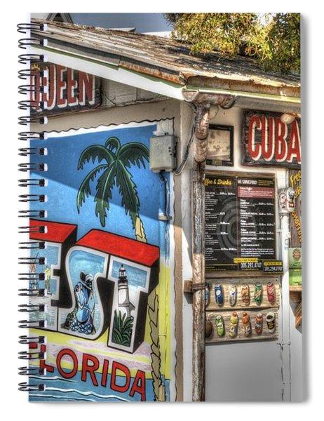 Cuban Coffee Queen Spiral Notebook