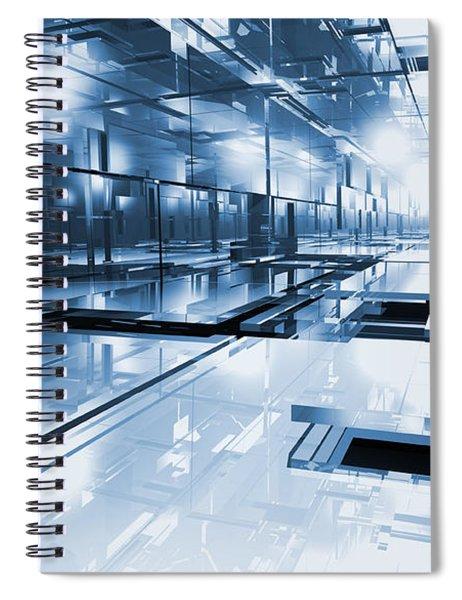 Cube Spiral Notebook