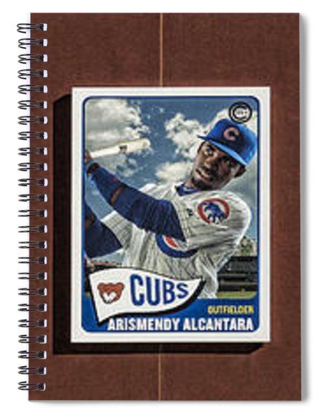 Cubs Card Collection Spiral Notebook