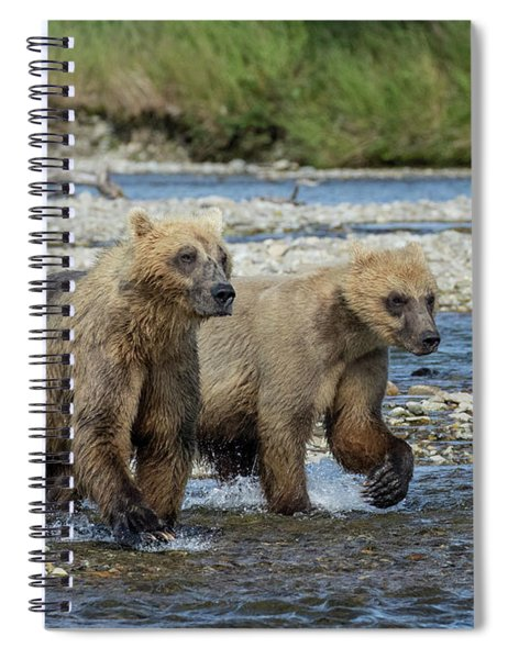 Cubs On The Prowl Spiral Notebook