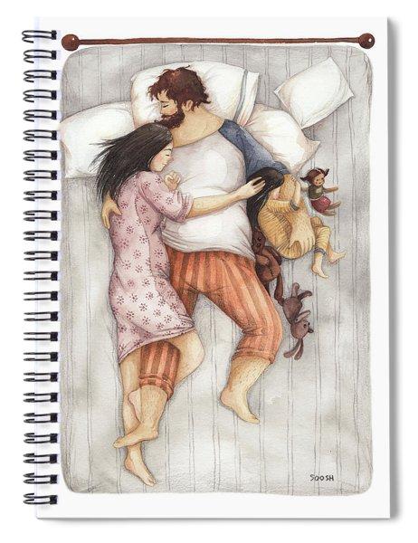 Cuddles Spiral Notebook