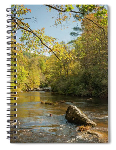 Cullasaja River Nc Spiral Notebook
