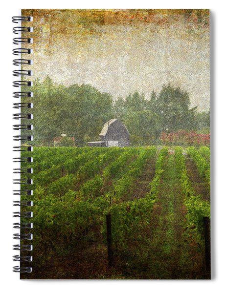 Cultivating A Chardonnay Spiral Notebook