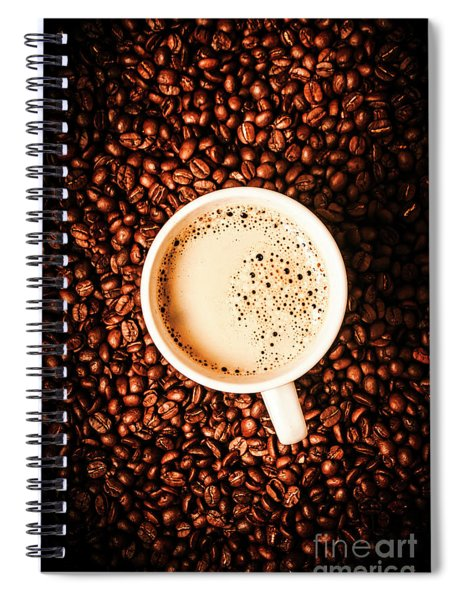 Cup And The Coffee Store Spiral Notebook