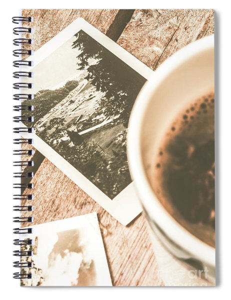 Cup Of Nostalgia Spiral Notebook