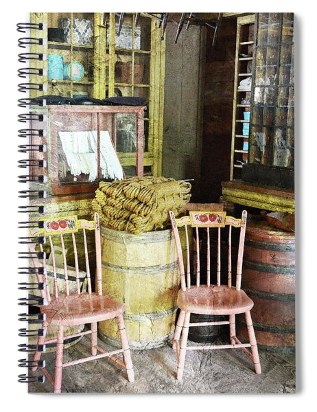 Cupboards Full Of Poetry Spiral Notebook