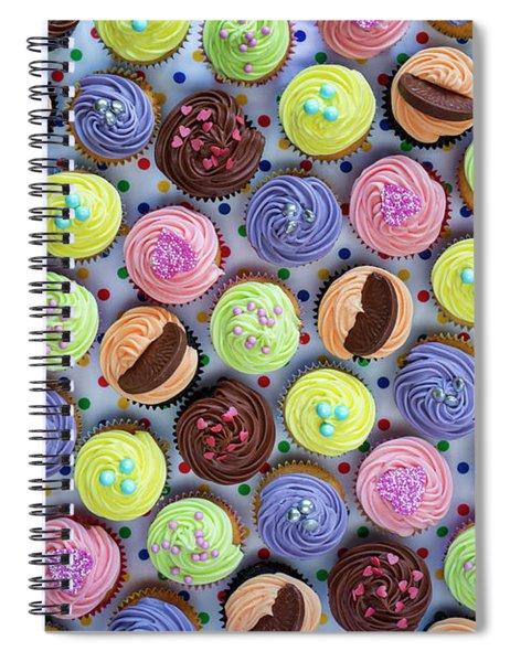 Cupcakes Spiral Notebook