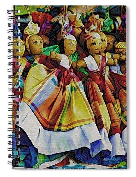 Curacao Girls Spiral Notebook