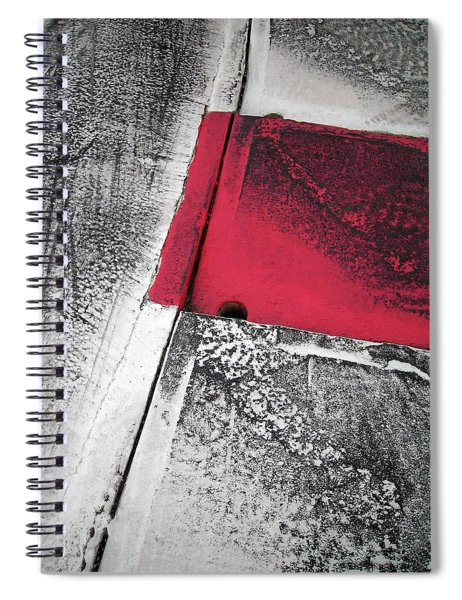 Curbs At The Canadian Formula 1 Grand Prix Spiral Notebook