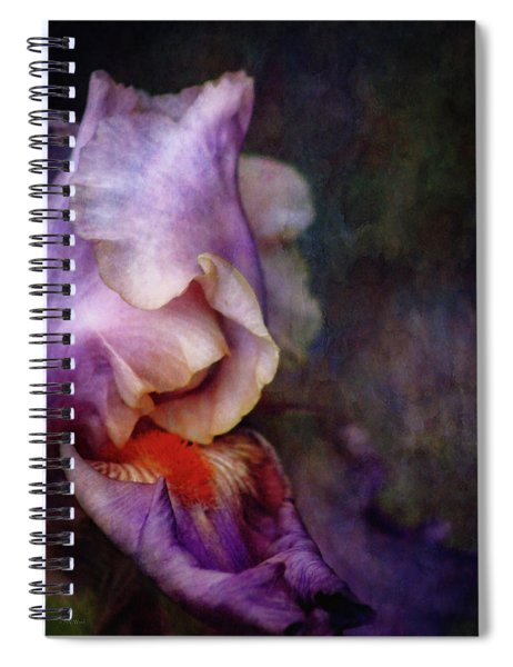 Curled 1287 Idp_2 Spiral Notebook