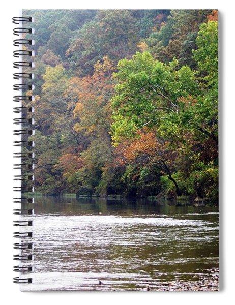 Current River Fall Spiral Notebook