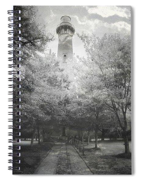 Currituck Beach Lighthouse Spiral Notebook
