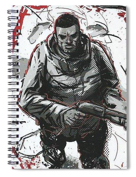 Curse Spiral Notebook