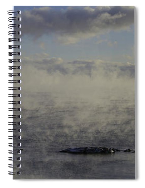 Curtis Island Light Spiral Notebook