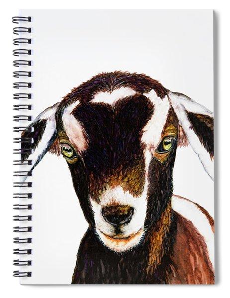 Cute As A Button Spiral Notebook
