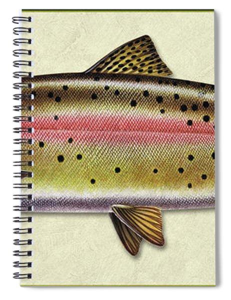 Cutthroat Trout Id Spiral Notebook