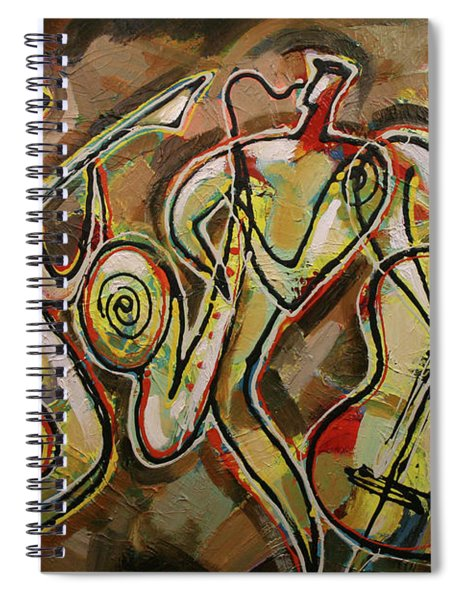 Cyber Jazz Spiral Notebook