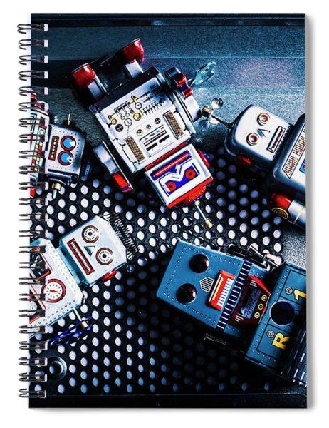 Cyborg Technology Reset Spiral Notebook