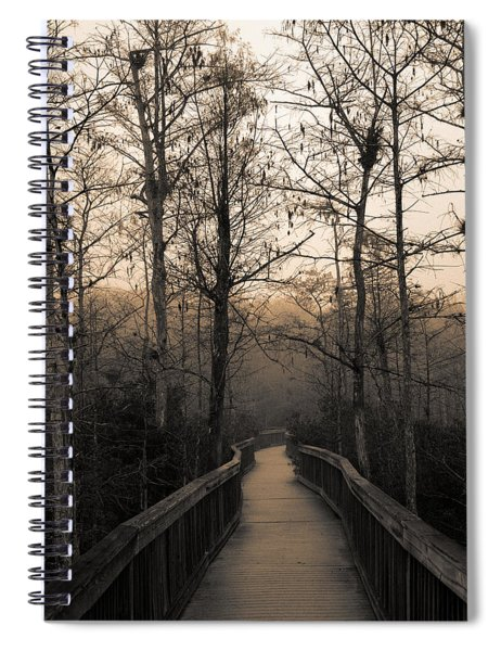 Cypress Boardwalk Spiral Notebook