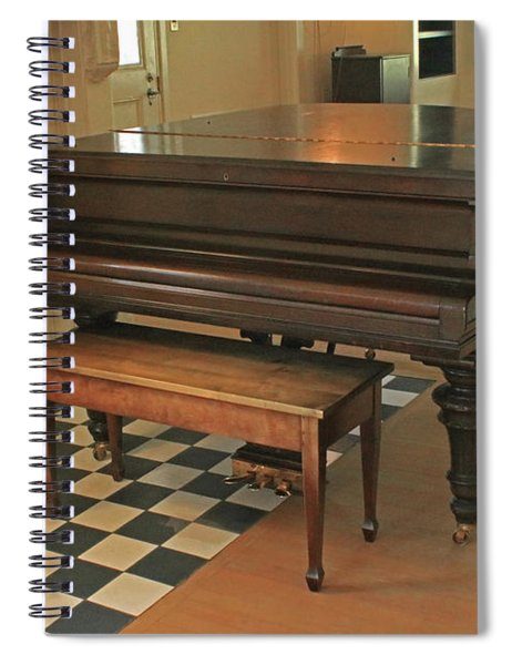 D8b6306 Jack London's Grand Piano Spiral Notebook