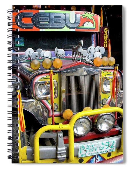 Da Jeepney Spiral Notebook
