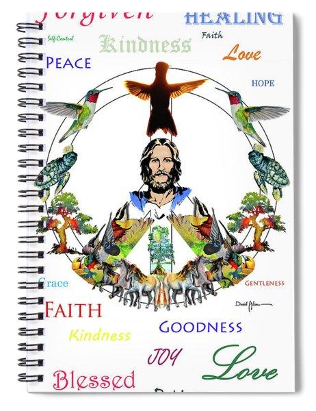 Grace Spiral Notebook