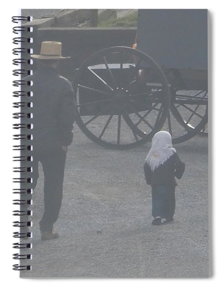 Dad And Daughter Spiral Notebook