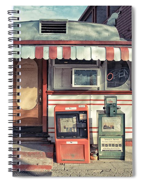 Daddypops Tumble Inn Diner Claremont New Hampshire Spiral Notebook