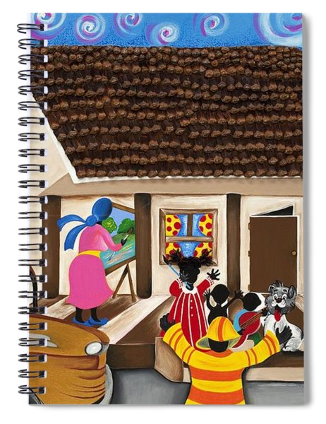 Daddy's Home Spiral Notebook