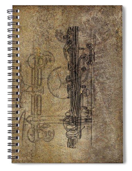 Dads Clarinet Spiral Notebook