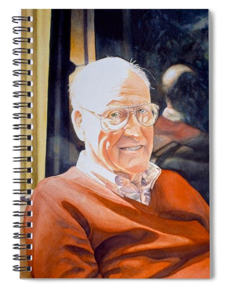 Dad's Red Sweater Spiral Notebook