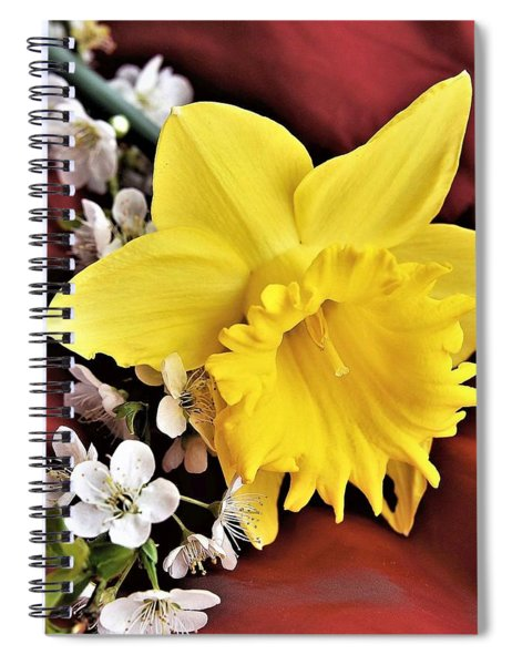 Spring Arrives Spiral Notebook