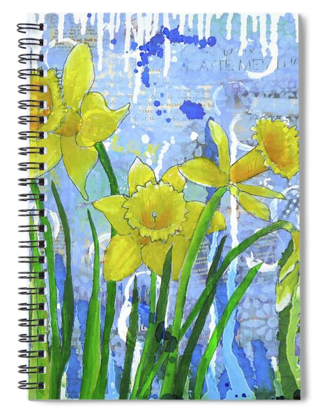 Daffodil Ding Dongs Spiral Notebook
