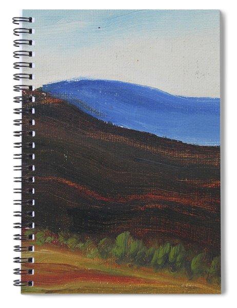 Dagrar Over Salenfjallen- Shifting Daylight Over Distant Horizon 2 Of 10_0035 50x40 Cm Spiral Notebook