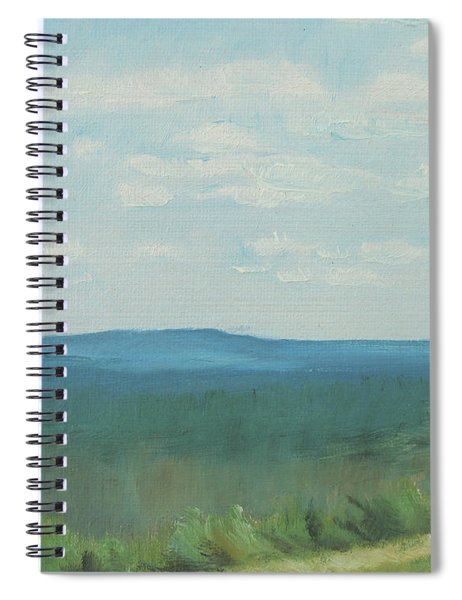 Dagrar Over Salenfjallen- Shifting Daylight Over Distant Horizon 3 Of 10_0029 50x40 Cm Spiral Notebook