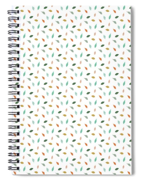Dainty Leaves Spiral Notebook