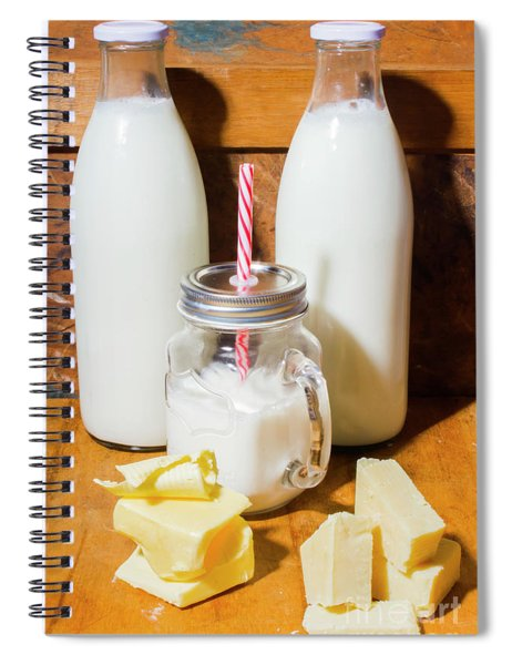 Dairy Delights Spiral Notebook