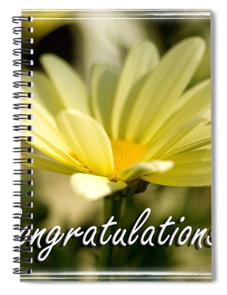 Daisy Congrats Spiral Notebook