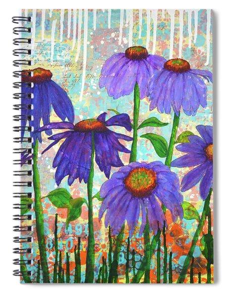 Daisy Masquerade Spiral Notebook