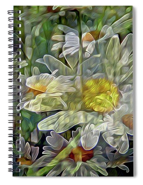 Daisy Mystique 8 Spiral Notebook